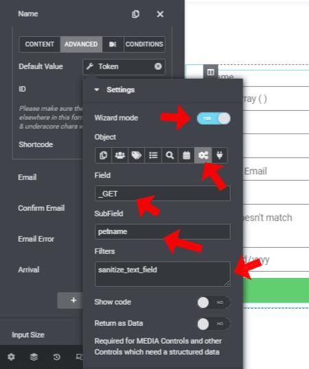 Dynamic Element for Elementor filter